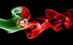 Εθνική σημαία καπνού της Πορτογαλίας Στοκ εικόνα με δικαίωμα ελεύθερης χρήσης