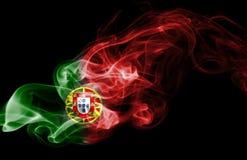 Εθνική σημαία καπνού της Πορτογαλίας Στοκ Εικόνες