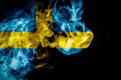 Εθνική σημαία Σουηδία Στοκ Φωτογραφίες