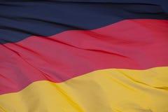 Εθνική σημαία της Γερμανίας Στοκ Φωτογραφία