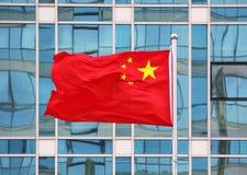Εθνική σημαία της Κίνας Στοκ Εικόνες