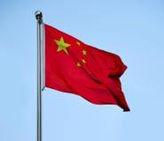 Εθνική σημαία της Κίνας Στοκ φωτογραφία με δικαίωμα ελεύθερης χρήσης