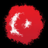Εθνική σημαία της Τουρκίας Στοκ φωτογραφία με δικαίωμα ελεύθερης χρήσης