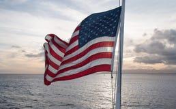 Εθνική σημαία των ΗΠΑ Στοκ Φωτογραφία