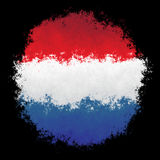 Εθνική σημαία των Κάτω Χωρών Στοκ φωτογραφίες με δικαίωμα ελεύθερης χρήσης