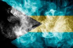 Εθνική σημαία των Μπαχαμών Στοκ Φωτογραφίες