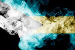 Εθνική σημαία των Μπαχαμών Στοκ εικόνες με δικαίωμα ελεύθερης χρήσης