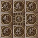 Εθνική σύσταση της Maya με ένα τοτέμ 33 Στοκ εικόνα με δικαίωμα ελεύθερης χρήσης