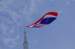 Εθνική ταϊλανδική σημαία Στοκ Φωτογραφίες