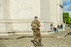 Εθνική φρουρά ασφάλειας Στοκ εικόνες με δικαίωμα ελεύθερης χρήσης