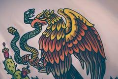 Εθνική φωτογραφία εμβλημάτων του Μεξικού Στοκ φωτογραφία με δικαίωμα ελεύθερης χρήσης