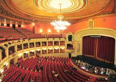 Εθνική όπερα του Βουκουρεστι'ου στοκ εικόνες