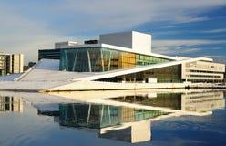 εθνική όπερα Όσλο Στοκ Εικόνα