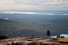 εθνική όψη πάρκων acadia στοκ εικόνες