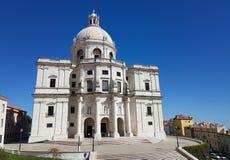 Εθνική Pantheon ή η εκκλησία Santa Engracia είναι ένα 17ο μνημείο της Λισσαβώνας, Πορτογαλία στοκ εικόνα με δικαίωμα ελεύθερης χρήσης