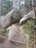 Εθνικοί βράχοι πάρκων όρμων παρόδων στοκ φωτογραφία με δικαίωμα ελεύθερης χρήσης