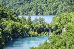εθνικοί καταρράκτες plitvice πάρκων λιμνών Κροατία Στοκ φωτογραφία με δικαίωμα ελεύθερης χρήσης