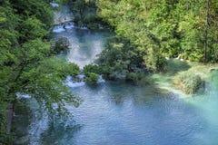 εθνικοί καταρράκτες plitvice πάρκων λιμνών Κροατία Στοκ Φωτογραφίες