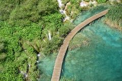 εθνικοί καταρράκτες plitvice πάρκων λιμνών Κροατία Στοκ Εικόνα