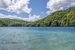 εθνικοί καταρράκτες plitvice πάρκων λιμνών Κροατία Στοκ εικόνα με δικαίωμα ελεύθερης χρήσης