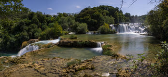 εθνικοί καταρράκτες plitvice πάρκων της Κροατίας εθνικό πάρκο krka της Κροατίας Στοκ φωτογραφία με δικαίωμα ελεύθερης χρήσης
