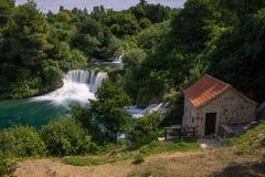 εθνικοί καταρράκτες plitvice πάρκων της Κροατίας εθνικό πάρκο krka της Κροατίας Στοκ εικόνα με δικαίωμα ελεύθερης χρήσης