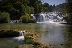 εθνικοί καταρράκτες plitvice πάρκων της Κροατίας εθνικό πάρκο krka της Κροατίας Στοκ εικόνες με δικαίωμα ελεύθερης χρήσης