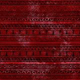 εθνικός άνευ ραφής ανασκόπησης Κόκκινη σύσταση watercolor απεικόνιση αποθεμάτων