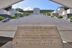 Εθνικός αναμνηστικός νεκροταφείο-Ειρηνικός στοκ φωτογραφία με δικαίωμα ελεύθερης χρήσης
