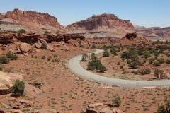 εθνικός δρόμος σκοπέλων π Utah Στοκ Φωτογραφία