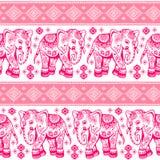 Εθνικός ελέφαντας άνευ ραφής ελεύθερη απεικόνιση δικαιώματος