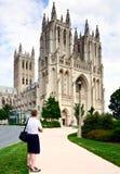 Εθνικός καθεδρικός ναός της Ουάσιγκτον, Ουάσιγκτον DC, ΗΠΑ. Στοκ Φωτογραφίες