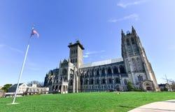 Εθνικός καθεδρικός ναός, Washington DC, Ηνωμένες Πολιτείες στοκ φωτογραφία