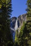 Εθνικός καταρράκτης Καλιφόρνια πάρκων Yosemite Στοκ Εικόνες