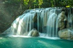 εθνικός καταρράκτης plitvice πάρκων της Κροατίας Στοκ εικόνα με δικαίωμα ελεύθερης χρήσης