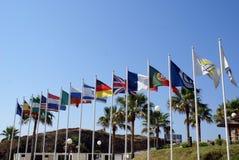εθνικός κόσμος σημαιών Στοκ εικόνες με δικαίωμα ελεύθερης χρήσης