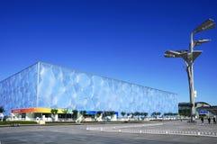 Εθνικός κύβος κεντρικού Aquatics ύδατος στο Πεκίνο Στοκ φωτογραφίες με δικαίωμα ελεύθερης χρήσης
