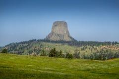 εθνικός πύργος Wyoming μνημείων &delt Στοκ φωτογραφία με δικαίωμα ελεύθερης χρήσης