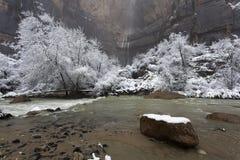 εθνικός χειμώνας του Utah πάρ&ka Στοκ εικόνα με δικαίωμα ελεύθερης χρήσης