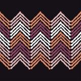 Εθνικό άνευ ραφής σχέδιο boho διακόσμηση παραδοσιακή ανασκόπηση γεωμετρική πρότυπο φυλετικό Λαϊκό μοτίβο Στοκ Φωτογραφία