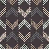Εθνικό άνευ ραφής σχέδιο boho διακόσμηση παραδοσιακή ανασκόπηση γεωμετρική πρότυπο φυλετικό Λαϊκό μοτίβο Στοκ εικόνα με δικαίωμα ελεύθερης χρήσης