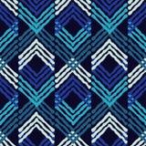 Εθνικό άνευ ραφής σχέδιο boho διακόσμηση παραδοσιακή ανασκόπηση γεωμετρική πρότυπο φυλετικό Λαϊκό μοτίβο Στοκ Φωτογραφίες