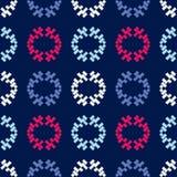 Εθνικό άνευ ραφής σχέδιο boho διακόσμηση παραδοσιακή ανασκόπηση γεωμετρική πρότυπο φυλετικό Λαϊκό μοτίβο Στοκ Εικόνα