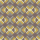 Εθνικό άνευ ραφής σχέδιο boho Εκκόλαψη χεριών διακόσμηση παραδοσιακή ανασκόπηση γεωμετρική Λαϊκό μοτίβο Στοκ εικόνες με δικαίωμα ελεύθερης χρήσης