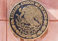 Εθνικό έμβλημα του Μεξικού Στοκ Φωτογραφία