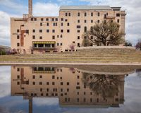 Εθνικό αναμνηστικό κτήριο μουσείων Πόλεων της Οκλαχόμα Στοκ Εικόνες