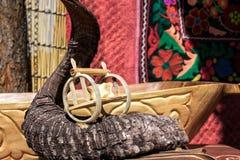 Εθνικό αναμνηστικό του Καζάκου Στοκ φωτογραφία με δικαίωμα ελεύθερης χρήσης