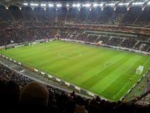 Εθνικό γήπεδο ποδοσφαίρου χώρων Στοκ Εικόνες