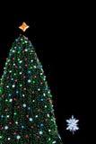 εθνικό δέντρο Χριστουγένν& Στοκ εικόνες με δικαίωμα ελεύθερης χρήσης