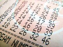 εθνικό εισιτήριο λαχει&omic Στοκ εικόνα με δικαίωμα ελεύθερης χρήσης